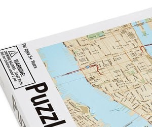 City Puzzle Maps